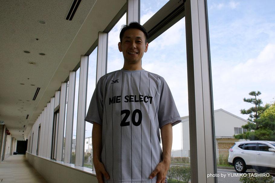 三重県選抜キャプテン 20番・森下直紀選手 東海1部リーグ「NASPA四日市」所属