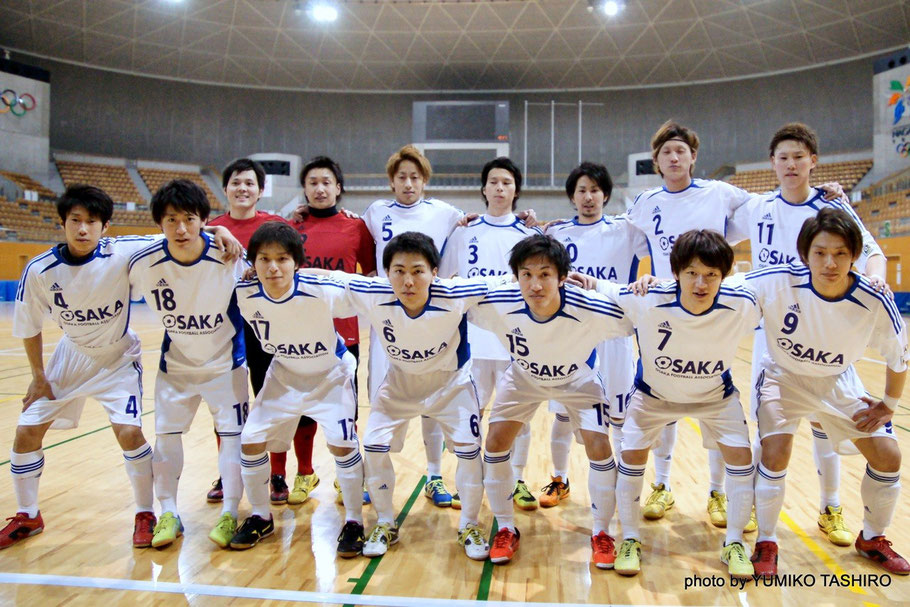2015年3月に開催された長野オープンU23選抜大会、奥橋選手(4番)と水田選手(5番)は大阪府U23選抜で共にプレーしている。
