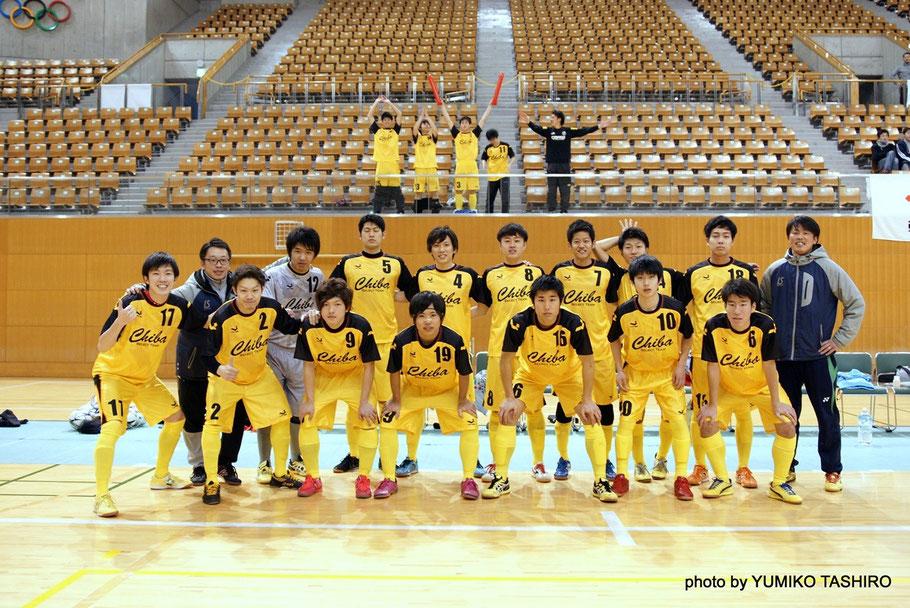 関東リーグのFCmmを中心に、O-PA・順天堂GAZIL・浦安テルセーロなどの選手で構成された千葉県U23選抜。