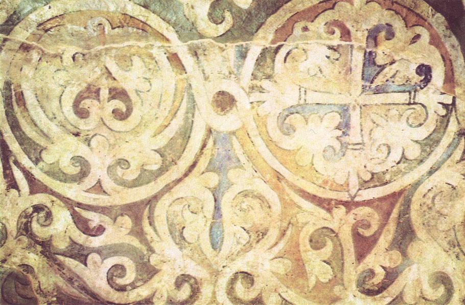 рисунок фрески софии киевской помощь только