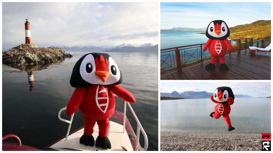 La marca VISIT Ushuaia, presentó a Usupin, su mascota oficial,