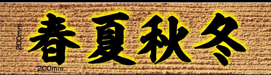 バックライトLED 漢字