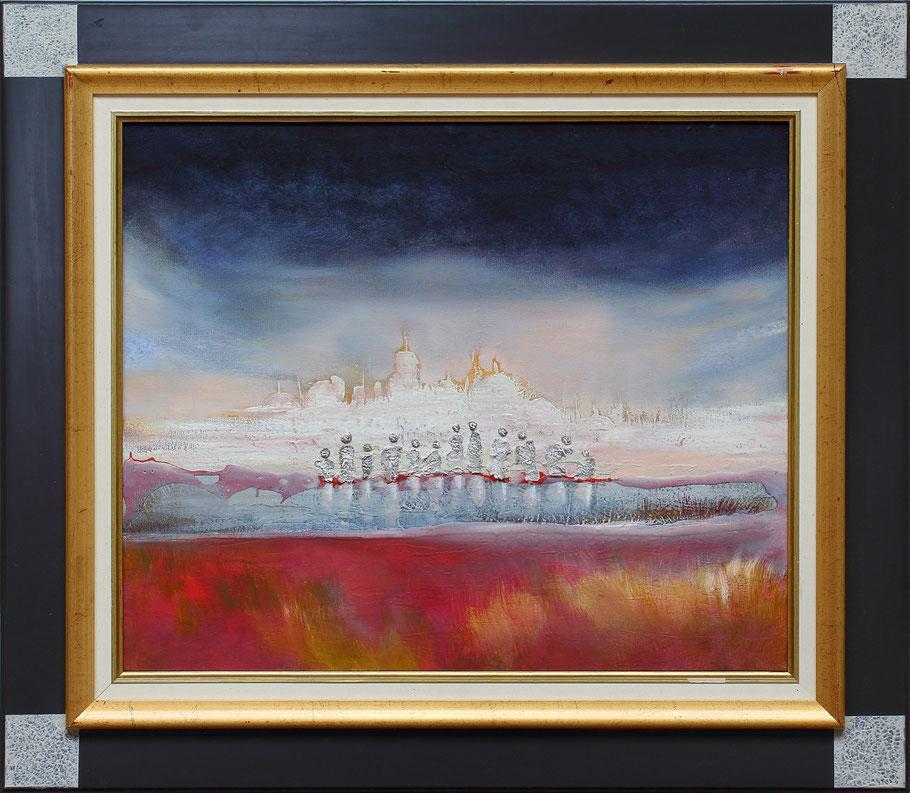 Paysages contemporains reproductions de tableaux art for Reproduction de tableaux modernes