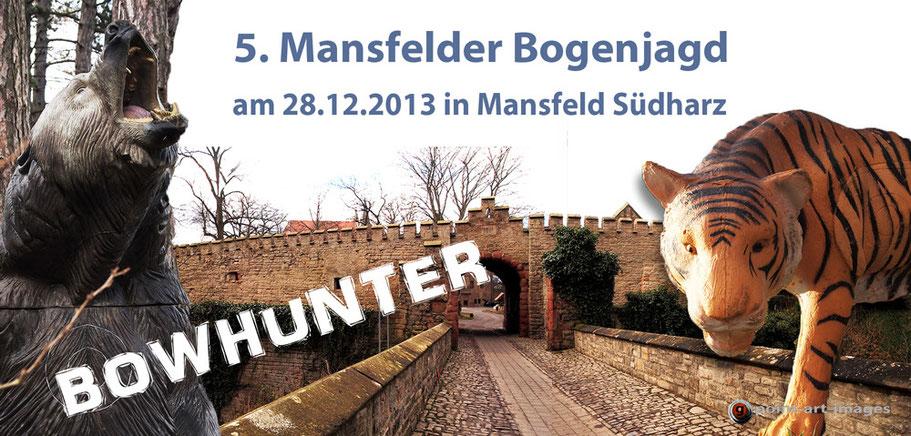 5. Mansfelder Bogenjagd - Schloss Mansfeld, Ausrichter: Bowhunter Mansfeld-Südharz