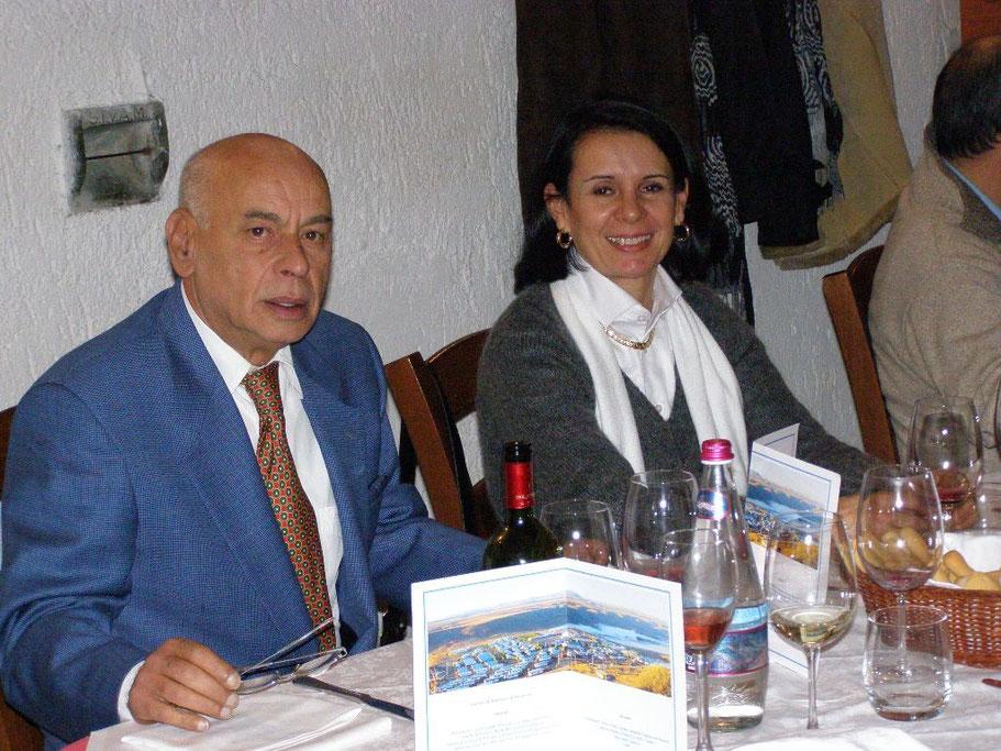 Alessandro Bove, Maria del Pilar Gaviria