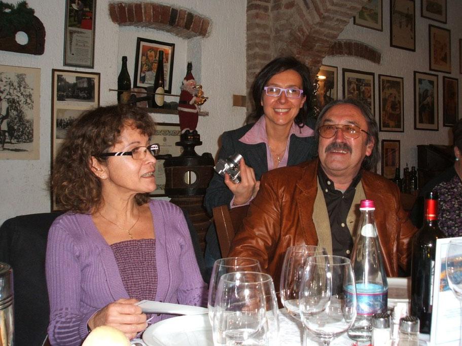 Da sinistra: Cristina Garcia, Barbara Barbonaglia, io
