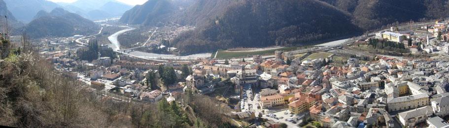 06.03.2011 - Varallo visto dal Sacro Monte