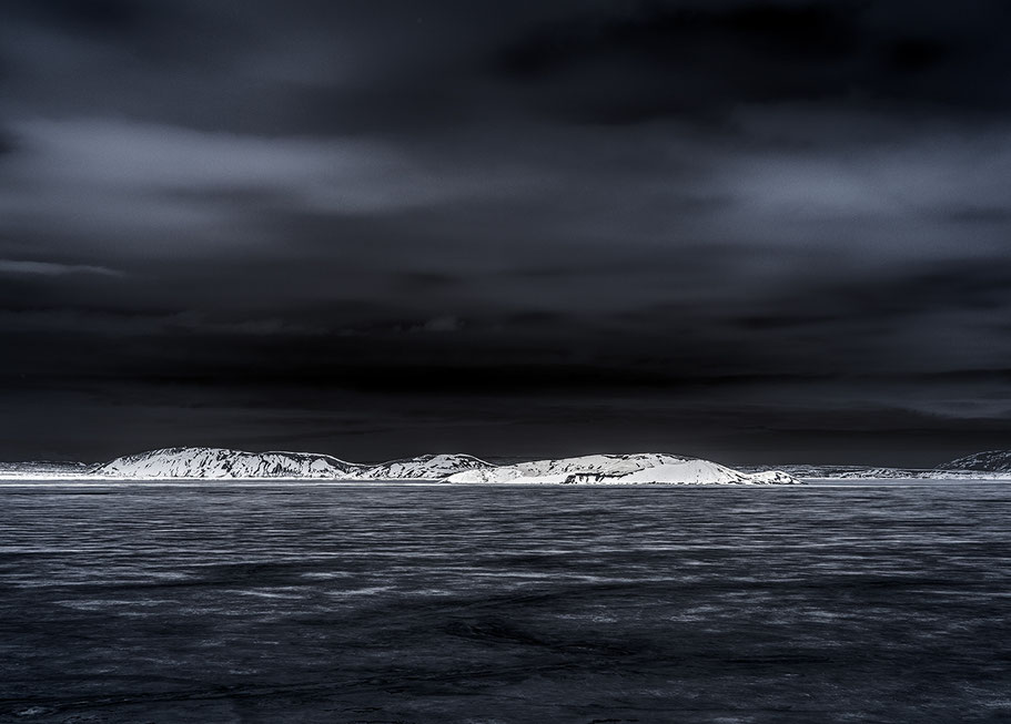 Iceland by night