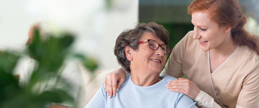 Herzliche Betreuung der Patienten