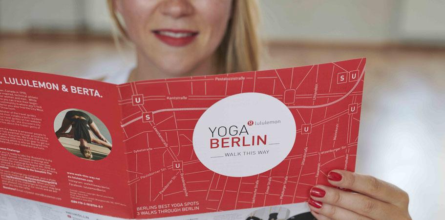 YogaBerlin map about yoga studios in Berlin