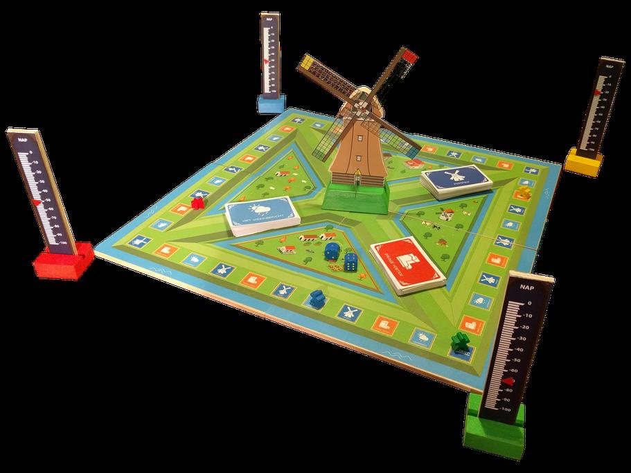 Hozen & Lozen lozen, het educatieve waterbordspel
