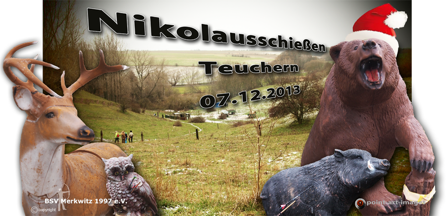 Nikolausschiessen am Krähenberg in Teuchern am 07.12.2013