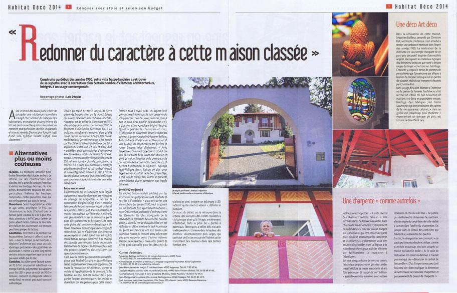 """Dossier """"Rénover avec style et selon son budget en Dordogne, à Bordeaux et dans les Landes"""""""