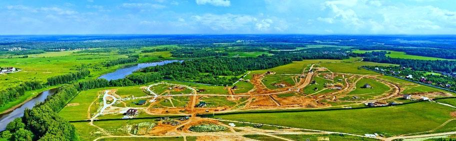 поселок тихая заводь, участки без подряда истринское водохранилище, новорижское шоссе