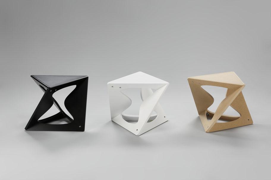 正八面体 家具 スツール 幾何学