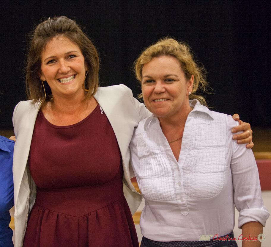 Lancement de campagne d'Anne-Laure Fabre-Nadler et Fabienne Hurmic, dans la 12ème circonscription de la Gironde pour un futur désirable. Sadirac, 17 mai 2017