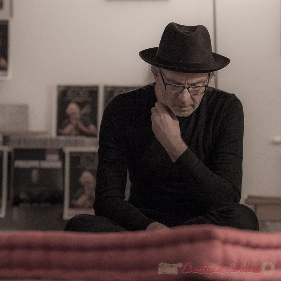 Philippe Cauvin. Marathon sonore / Intégrale 6CD. Le Rocher de Palmer, 12/12/2015. Reproduction interdite - Tous droits réservés © Christian Coulais