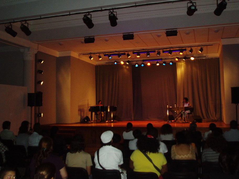 Concierto de Maye Azcuy en La Habana