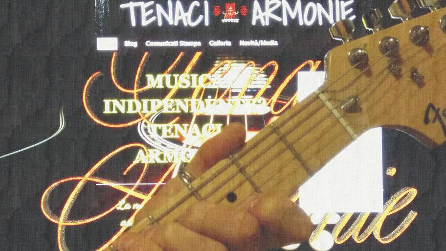 foto sito tenaci armonie con chitarra
