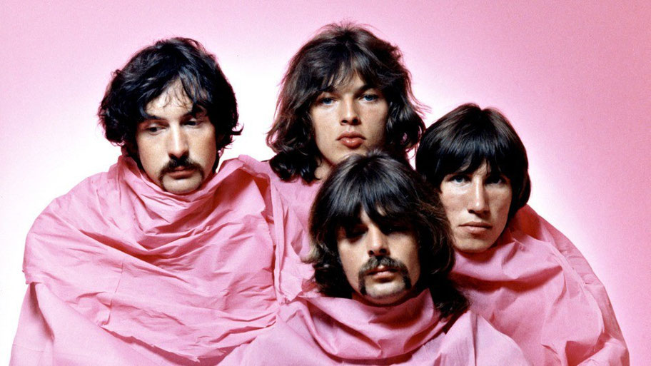 foto pink floyd giovani in rosa