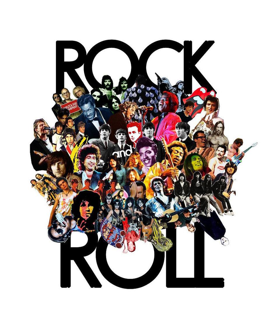 immagine di artisti rock più famosi della storia