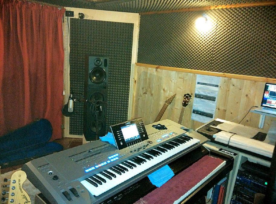 tastiera e studio incisione e mastering renato stevanato