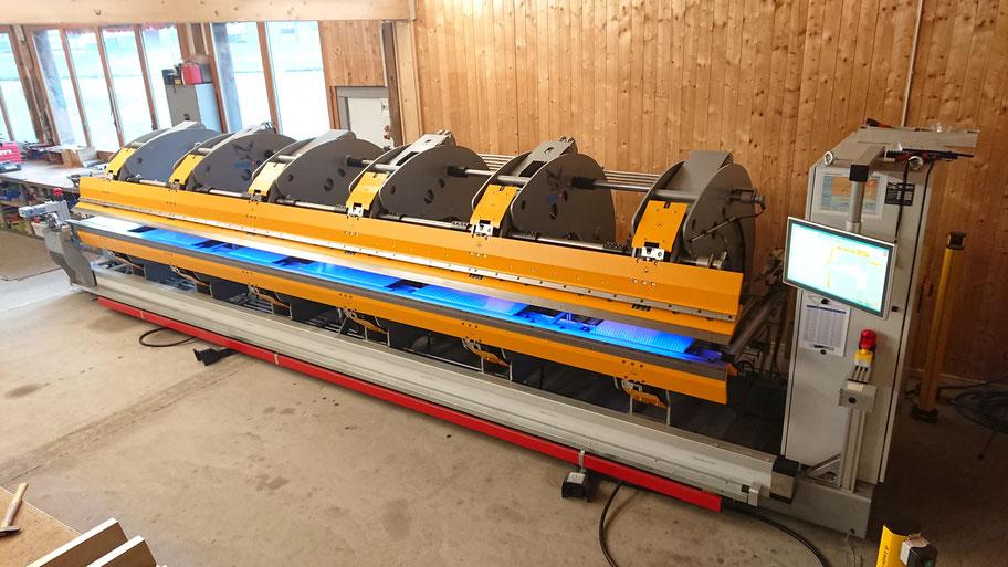 Thalmann TD 200 Schwenkbiegemaschine