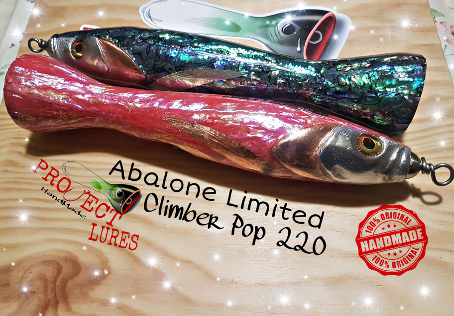 #projectlures #thinkdifferent #Handmadelures #Lures  #makinglures #customlures #madeinwood #customlures #popperlures #italiancustomlures