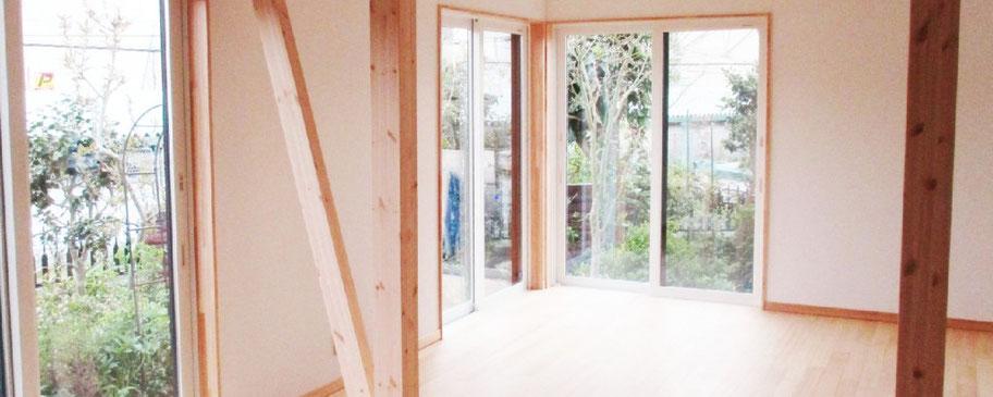 耐震改修の技術で間取りの再構築、建物の問題点を解消して安心して暮らせる住まいを実現