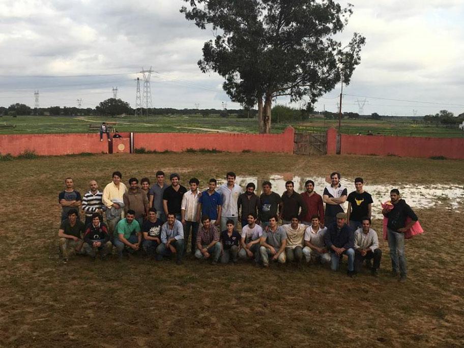3º Treino da temporada Foto de Grupo Ganadaria Lupi  Barroca d Alva 22 de Abril - Alcochete