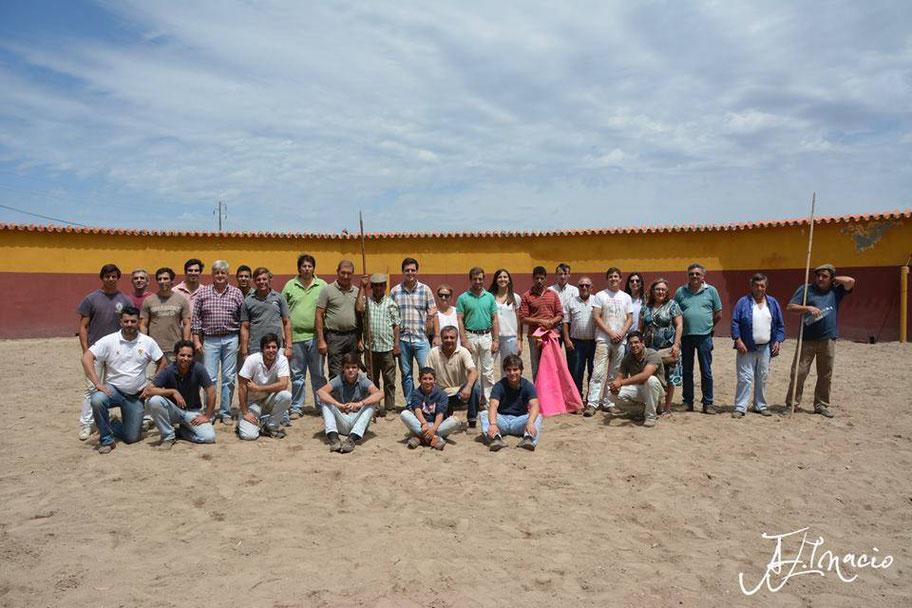 6º Treino da Temporada Foto de Grupo Ganadaria Assunção Coimbra Herdade do Marmeleiro  1 de Julho -  Marmeleiro