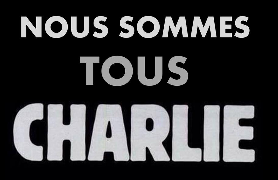 Je suis Charlie. Nous sommes tous Charlie.