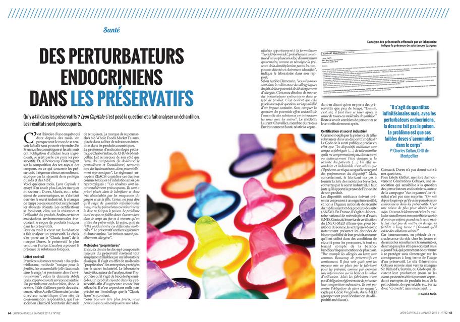 Article également publié dans le magazine Lyon Capitale - Janvier 2017