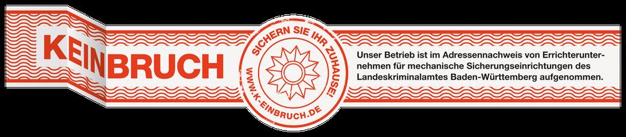 K-Einbruch Siegel Errichter
