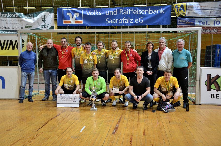 Der SV Niederbexbach ist neuer Stadtmeister in der Halle.