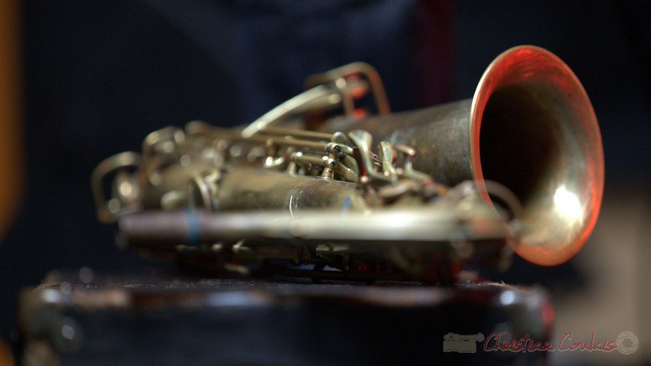 Saxophone alto de Cyril Prévost, Django Phil, Festival JAZZ360 2013, Latresne. Dimanche 9 juin 2013