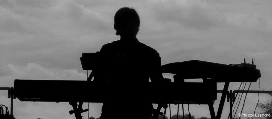 Phil Gueguen, Festival JAZZ360, Camblanes-et-Meynac, photographie Philippe Desmond, 11 juin 2016