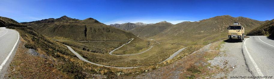 AUF DEM WEG ZUM PASO DE AGUILA AUF FAST 4000 m