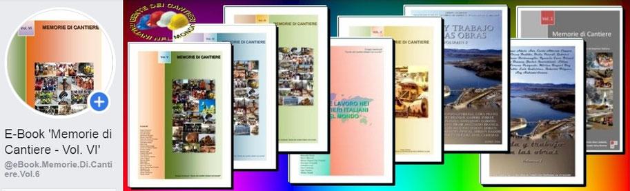 Copertina della pagina promozionale del libro