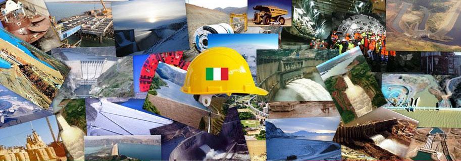 Cantieri di costruzione italiani nel mondo