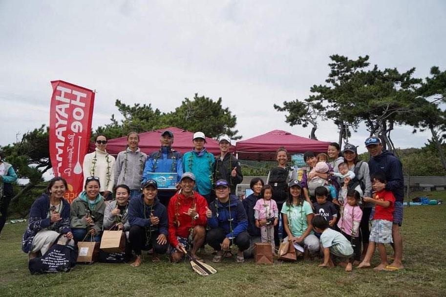 HAYAMA HOE2020 ビギナークラス入賞の記念撮影