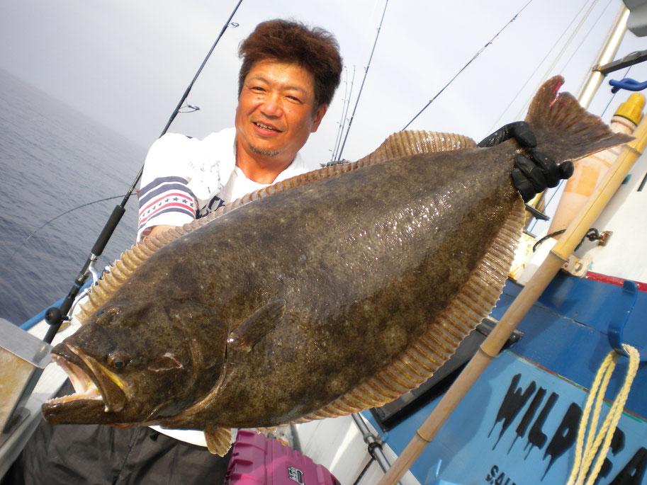 93cm7.5kg 超BIGヒラメ キャッチ!