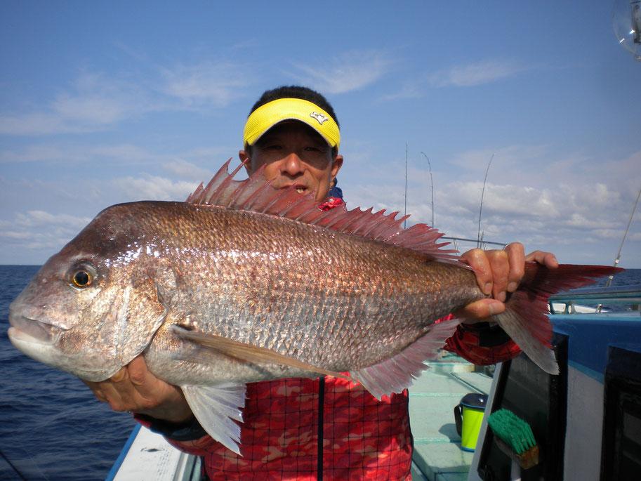 真鯛70cm