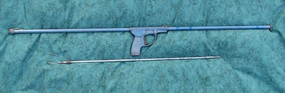 Fusil Court sans moulinet canon non démontable
