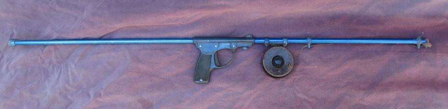 Fusil Court avec moulinet canon démontable