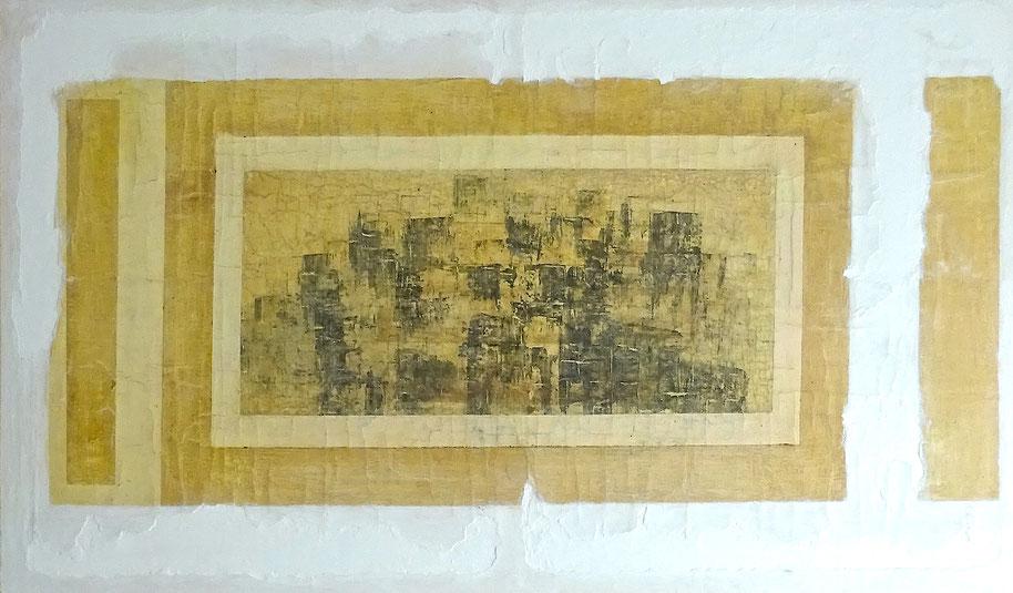 Decadencia Figurativa - Acrílico y óleo sobre lienzo - 150W x 90W x 3cm