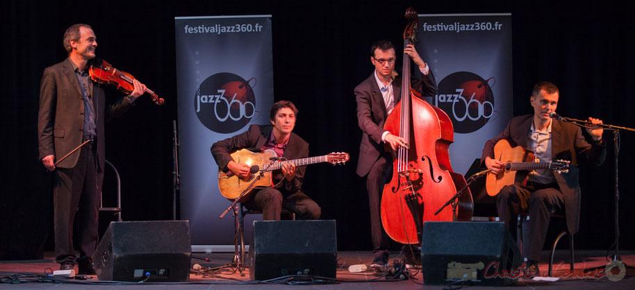 Jean Lardanchet, Laurent Vincenza, Sylvain Pourrat, Yannick Alcocer, Minor Sing. Festival JAZZ360 2016, salle des Fêtes de Latresne, 12/06/2016