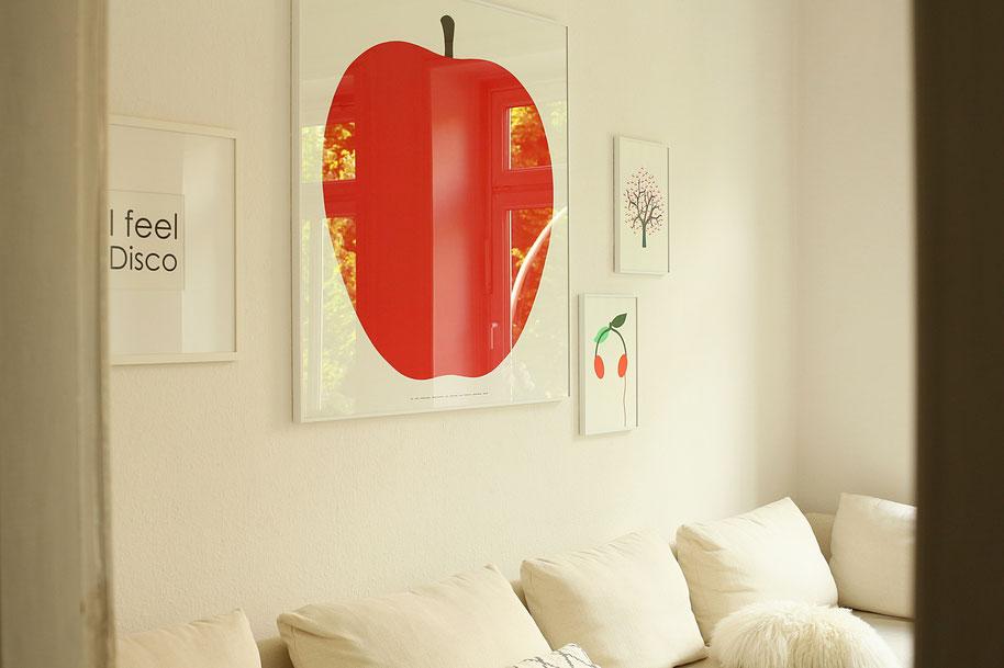 Mein Leben mit weißen Möbeln - fritz & froh Prints und Poster