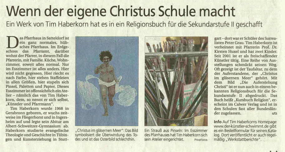 Hohenloher Tagblatt, Samstag, 4. April 2015, S. 9