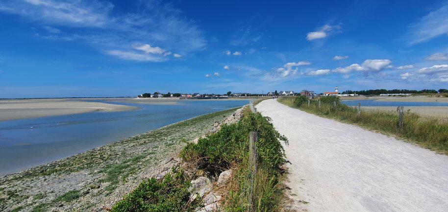 La Traverse du Ponthieu-circuit pédestre, vélo- Abbeville-Baie de Somme